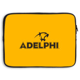 15 inch Neoprene Laptop Sleeve-Adelphi with Panther Head