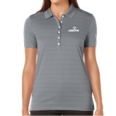 Ladies Callaway Opti Vent Steel Grey Polo-Adelphi with Panther Head