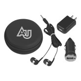 3 in 1 Black Audio Travel Kit-AU