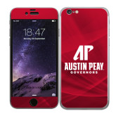 iPhone 6 Skin-AP Austin Peay Governors - Official Athletic Logo