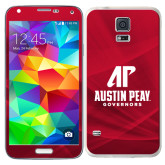 Galaxy S5 Skin-AP Austin Peay Governors - Official Athletic Logo