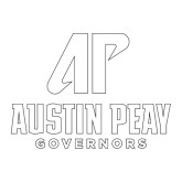 Large Decal-AP Austin Peay Governors - Official Athletic Logo