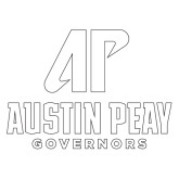 Extra Large Decal-AP Austin Peay Governors - Official Athletic Logo
