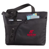 Excel Black Sport Utility Tote-AP Austin Peay Governors - Official Athletic Logo