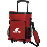 30 Can Red Rolling Cooler Bag-AP Austin Peay Governors - Official Athletic Logo