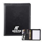 Carbon Fiber Tech Padfolio-AP Austin Peay Governors - Official Athletic Logo