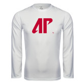 Syntrel Performance White Longsleeve Shirt-AP