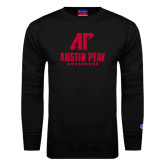 Black Fleece Crew-AP Austin Peay Governors - Official Athletic Logo
