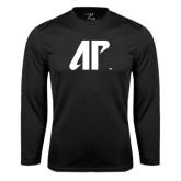 Syntrel Performance Black Longsleeve Shirt-AP