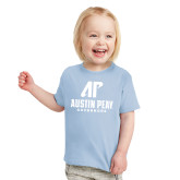 Toddler Light Blue T Shirt-AP Austin Peay Governors - Official Athletic Logo