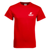 Red T Shirt-AP Austin Peay Governors - Official Athletic Logo