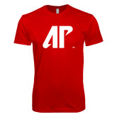 Next Level SoftStyle Red T Shirt-AP