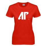 Ladies Red T Shirt-AP