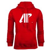 Red Fleece Hood-AP