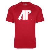 Under Armour Red Tech Tee-AP