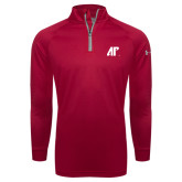 Under Armour Red Tech 1/4 Zip Performance Shirt-AP