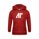 Youth Red Fleece Hood-AP