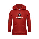 Youth Red Fleece Hood-Governor Austin Peay Governors