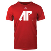 Adidas Red Logo T Shirt-AP