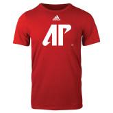 Adidas Red Logo T Shirt-AP