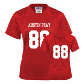 Ladies Red Replica Football Jersey-#88