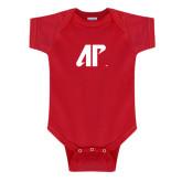 Red Infant Onesie-AP