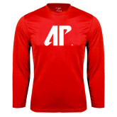 Syntrel Performance Red Longsleeve Shirt-AP