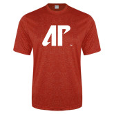 Performance Red Heather Contender Tee-AP