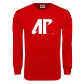 Red Long Sleeve T Shirt-AP