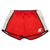 Ladies Red/White Team Short-AP