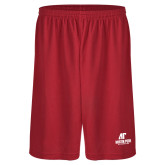 Midcourt Performance Red 9 Inch Game Short-AP Austin Peay Governors - Official Athletic Logo