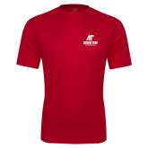 Syntrel Performance Red Tee-AP Austin Peay Governors - Official Athletic Logo