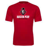 Syntrel Performance Red Tee-Governor Austin Peay Governors