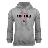 Grey Fleece Hood-Baseball Design