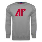 Grey Fleece Crew-AP