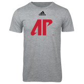 Adidas Sport Grey Logo T Shirt-AP