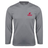 Syntrel Performance Steel Longsleeve Shirt-AP Austin Peay Governors - Official Athletic Logo