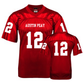 Replica Red Adult Football Jersey-#12