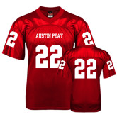 Replica Red Adult Football Jersey-#22