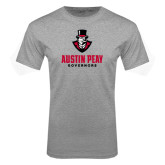 Grey T Shirt-Governor Austin Peay Governors