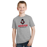 Youth Grey T-Shirt-Governor Austin Peay Governors