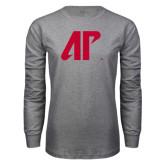 Grey Long Sleeve T Shirt-AP