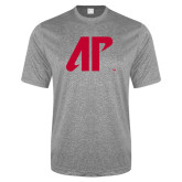 Performance Grey Heather Contender Tee-AP