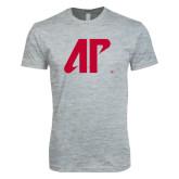 Next Level SoftStyle Heather Grey T Shirt-AP