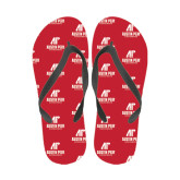 Full Color Flip Flops-AP Austin Peay Governors - Official Athletic Logo