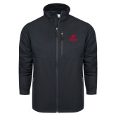 Columbia Ascender Softshell Black Jacket-AP Austin Peay Governors - Official Athletic Logo