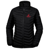 Columbia Mighty LITE Ladies Black Jacket-AP Austin Peay Governors - Official Athletic Logo