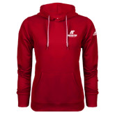 Adidas Climawarm Red Team Issue Hoodie-AP Austin Peay Governors - Official Athletic Logo