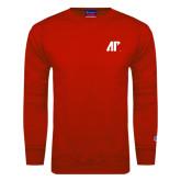 Red Fleece Crew-AP