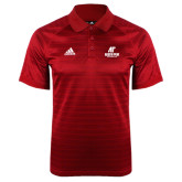 Adidas Climalite Red Jaquard Select Polo-AP Austin Peay Governors - Official Athletic Logo